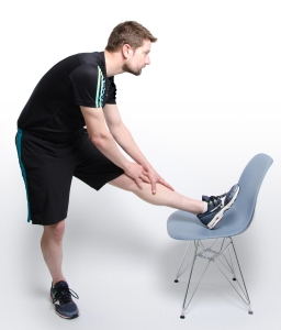 Football Injury Physio Hamstring Stretch