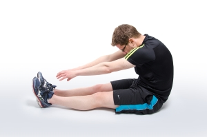 Football Physio Sit And Reach Stretch