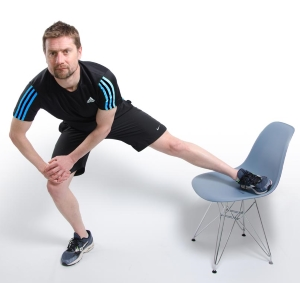 Physio Adductor Stretch For Knee Pain