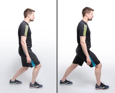 Hiking Physio Calf Stretch