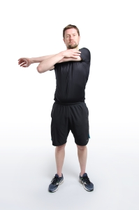 Volleyball Physio - Rotator Cuff Stretch