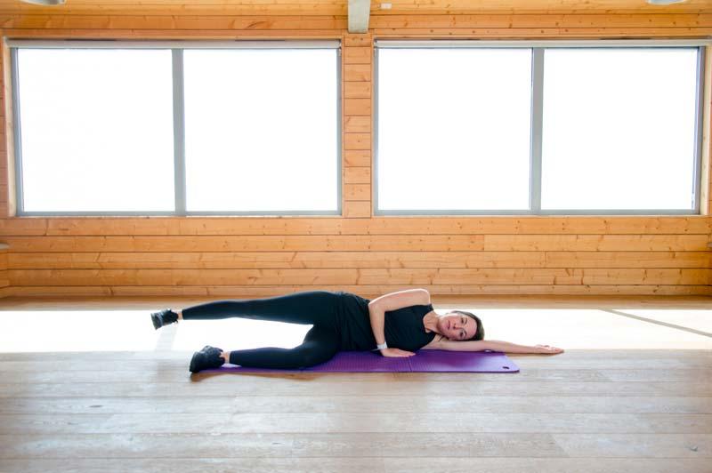 Ellie-Side lying leg lifts 1