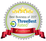 ThreeBest Rated Best Business of 2017