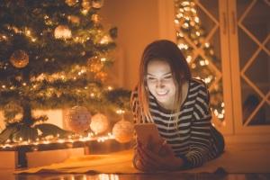 Christmas Mobile Phone Usage