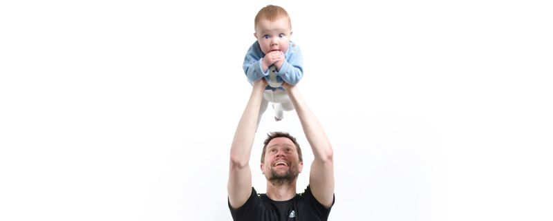 No Excuses For Parents Getting Fat: Workout With Your Baby!